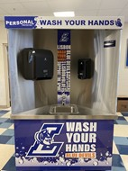 Touchless Hand Washing Station at DAHS