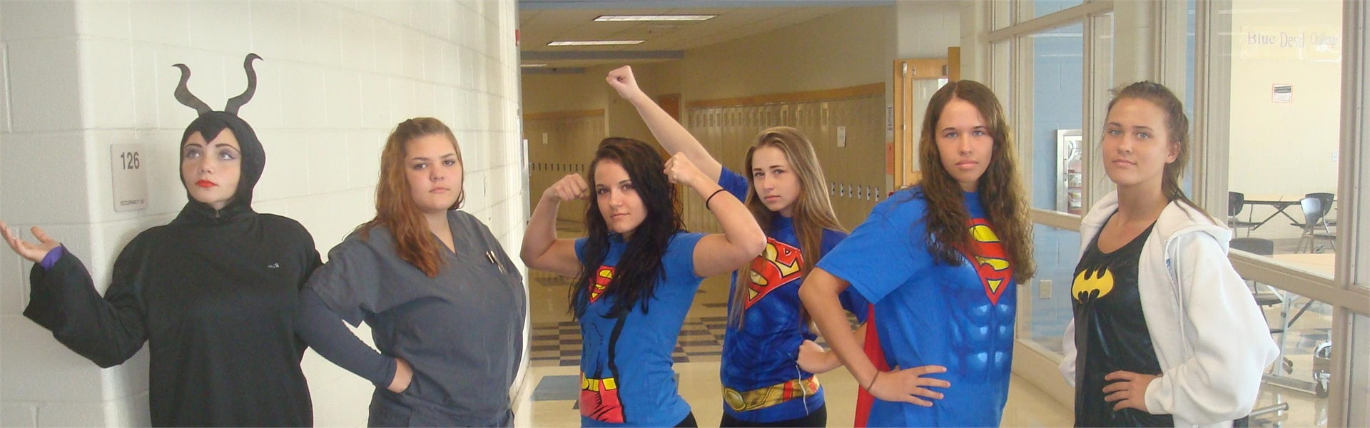 Spirit Week - Super Hero Day